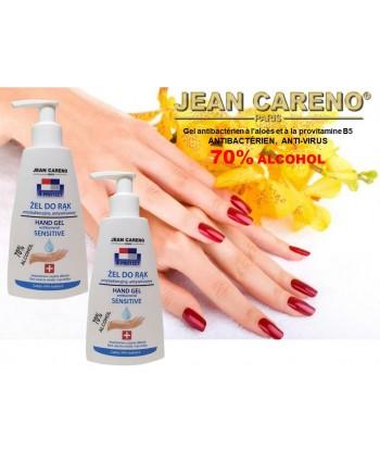 HAND GEL ANTIBACTERIAL Aloe and Provitamin B5 - 70% alcohol 210 ml.