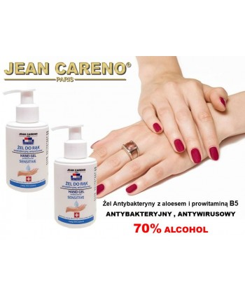 HAND GEL ANTIBACTERIAL Aloe and Provitamin B5 - 70% alcohol 125 ml.